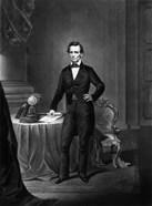 President Abraham Lincoln Standing
