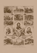 Presidents Grant, Lincoln and Washinton