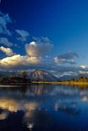 Sofa Mountain in Maskinonge Lake, Alberta, Canada