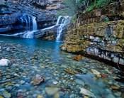 Cameron Falls, Waterton Lakes NP, Alberta, Canada