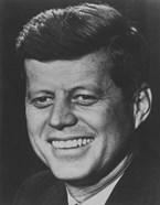President John F Kennedy (digitally restored)