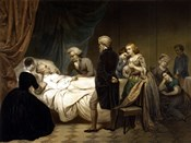 President George Washington on his Deathbed