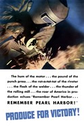 Produce for Victory - Remember Pearl Harbor