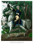 General Andrew Jackson on Horseback (color)