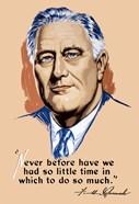 Franklin Delano Roosevelt, Never Before?