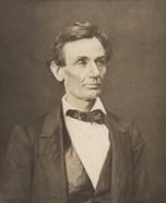 President Abraham Lincoln (Vintage Civil War Photo)