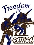 Freedom is Earned