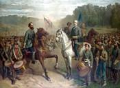 Genernals Lee and Jackson on Horseback