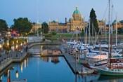 The Inner Harbor at Victoria, British Columbia