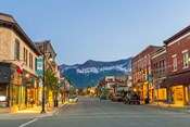 Historic 2nd Street, in downtown Fernie, British Columbia, Canada