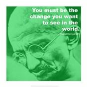 Gandhi - Change Quote