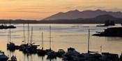 Sunset at Tofino, Harbor, Vancouver Island, British Columbia