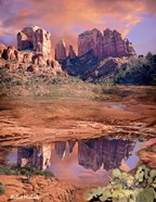 Cathedral Rock Reflected - Sedona