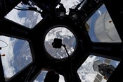 View of Earth through the Cupola on the International Space Station
