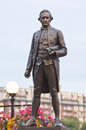 British Columbia, Victoria, Captain James Cook Statue