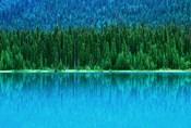 Emerald Lake Boathouse, Yoho National Park, British Columbia, Canada (horizontal)