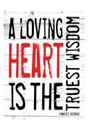 Loving Heart - Red