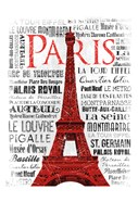 Paris White & Red