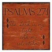 Psalms 27-1