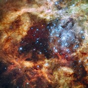 Hubble's Festive View of a Grand Star-Forming Region