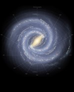 The Milky Way Galaxy (annotated)