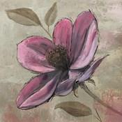 Plum Floral III