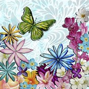 Whimsical Floral Collage 3-2