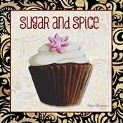 Sugar And Spice Chocolat Cupcake