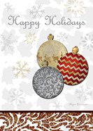 Fancy Happy Holidays