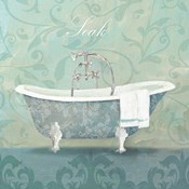Damask Bath Tub