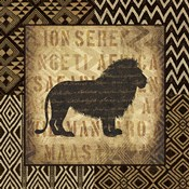 African Wild Lion Border