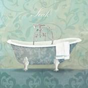 Damask Bath Tub
