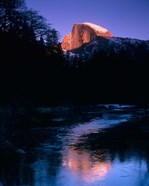 Half Dome, Merced River, Yosemite, California