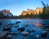 Rocks in The Merced River in the Yosemite Valley