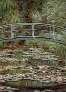 Waterlily Pond, Japanese Bridge