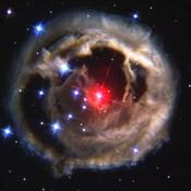 Light Echo From Star V838 Monocerotis - December 17, 2002