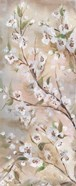 Cherry Blossoms Taupe Panel II