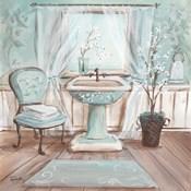 Aqua Blossom Bath I