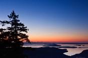British Columbia, Salt Spring, Mt Maxwell sunrise