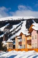 Ski lodges, Sun Peaks Resort, Sun Peaks, British Columbia, Canada