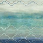 Abstract Waves Blue/Gray I