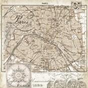 Euro Map I - Paris