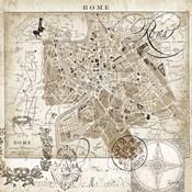 Euro Map II - Rome