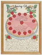 A Strawberry Chiffon Pie
