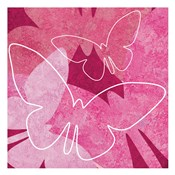 Butterflys Pink 1