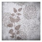 Warm Gray Flowers 2