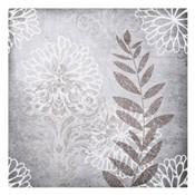 Warm Grey Flowers 6