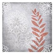 Warm Gray Flowers 4