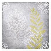 Warm Gray Flowers 3