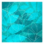 Turquoise Leaves 1